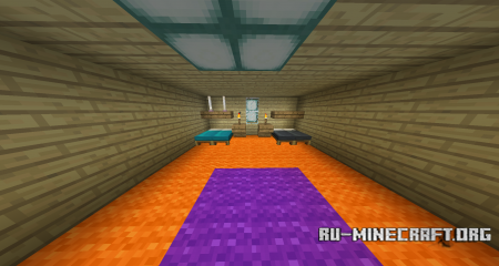 Скачать DELTARUNE Chapter 1 Parkour для Minecraft