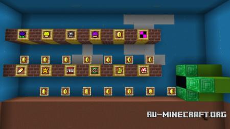 Скачать Mario Power-Ups для Minecraft PE 1.12