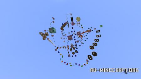 Скачать Freaky Parkour для Minecraft