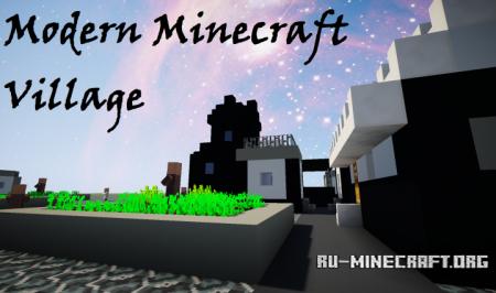 Скачать Modern Minecraft Village для Minecraft