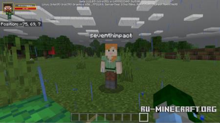 Скачать Damage Indicators Script для Minecraft PE 1.12