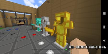 Скачать Zaturn's Simpl3 [16x16] для Minecraft PE 1.9