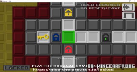 Скачать Locked in Minecraft для Minecraft