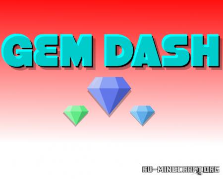 Скачать Gem Dash для Minecraft