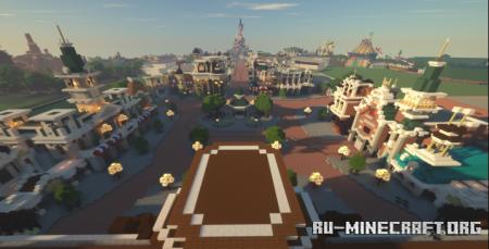 Скачать Disneyland Paris для Minecraft