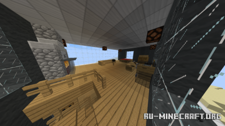 Скачать Cliff Side House in the Desert для Minecraft