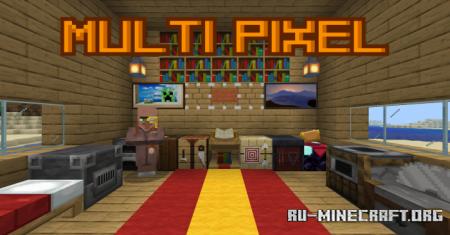 Скачать MultiPixel для Minecraft PE 1.12