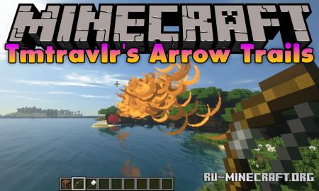 Скачать Tmtravlr's Arrow Trails для Minecraft 1.12.2