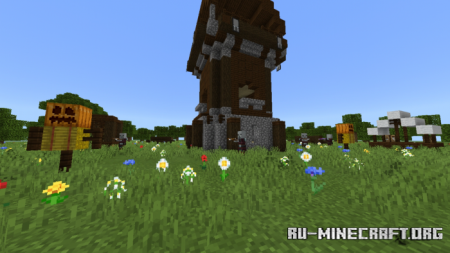 Скачать Pillage Generator Function для Minecraft PE 1.12