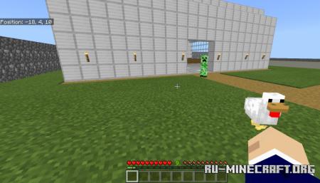 Скачать Creepers Minus для Minecraft PE 1.12