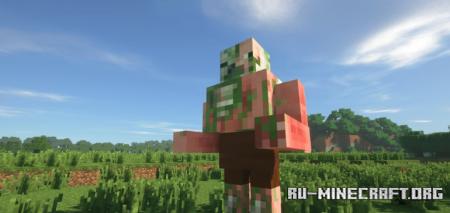 Скачать Mutant Mobs для Minecraft 1.12.2