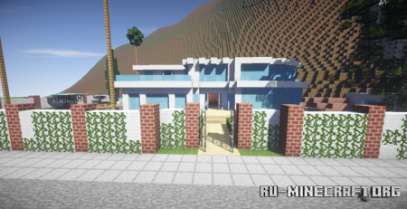 Скачать Modern Mansion 10 by joaocraft20 для Minecraft