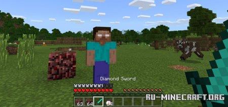 Скачать Herobrine для Minecraft PE 1.11