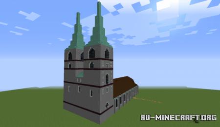 Скачать St. Nikolai Church: Quedlinburg для Minecraft