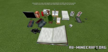 Скачать Decor Plus для Minecraft PE 1.12