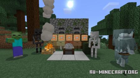 Скачать NaturalPack [64x64] для Minecraft PE 1.12