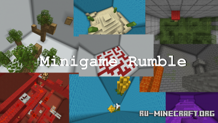 Скачать Minigame Rumble для Minecraft