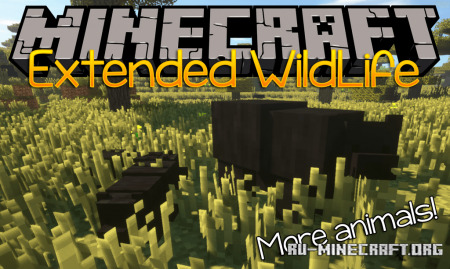 Скачать Extended WildLife для Minecraft 1.12.2
