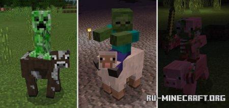 Скачать More Jockeys для Minecraft PE 1.11
