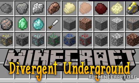 Скачать Divergent Underground для Minecraft 1.12.2