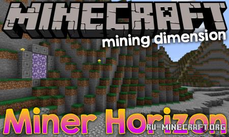 Скачать Miner's Horizon для Minecraft 1.14.1