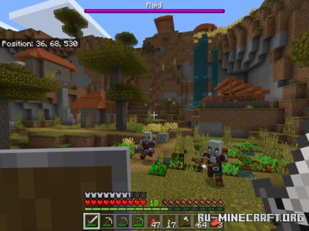 Скачать Let's Pillage Together для Minecraft 1.12