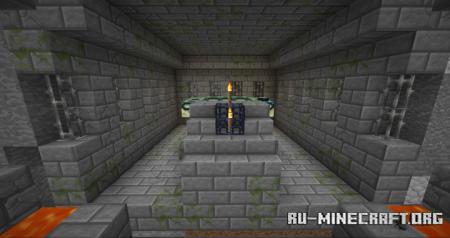 Скачать 1-Chunk Survival Challenge для Minecraft