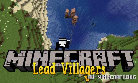Скачать Lead Villagers для Minecraft 1.14.1