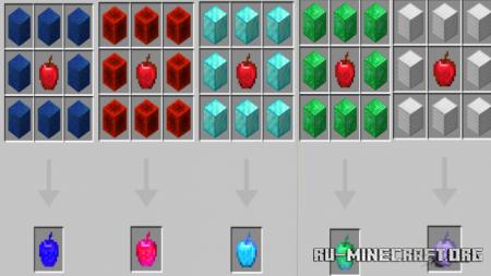 Скачать MoreApples для Minecraft PE 1.12