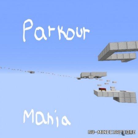 Скачать Parkour Mania by Flease для Minecraft