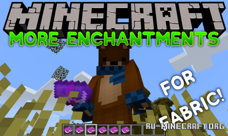 Скачать biom4st3r1's More Enchantments для Minecraft 1.14.1