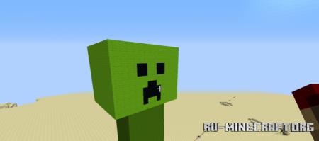 Скачать Giant Creeper для Minecraft
