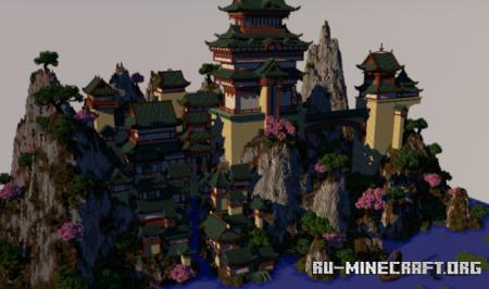 Скачать Japanese Castle by MinhVVn для Minecraft