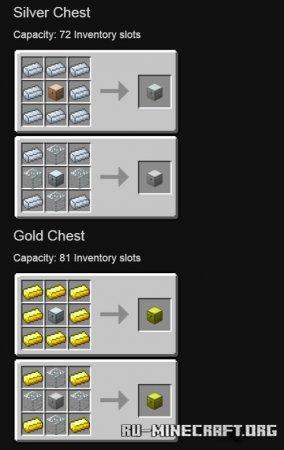 Скачать Iron Chests для Minecraft 1.13.2