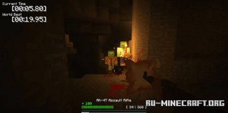 Скачать Left 2 Mine для Minecraft 1.12.2