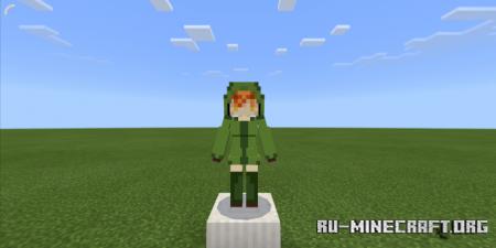 Скачать Mobs Girls для Minecraft PE 1.12
