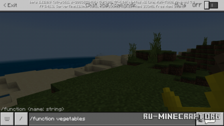 Скачать FruitAndVegetables для Minecraft PE 1.12