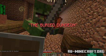 Скачать The Forgotten Dungeon Of Ky для Minecraft