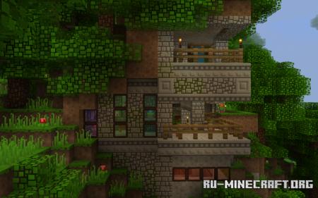 Скачать Block Pixel [16x] для Minecraft 1.13