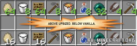 Скачать Upsizer для Minecraft 1.14.2