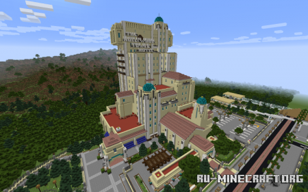 Скачать The Hollywood Tower Hotel для Minecraft