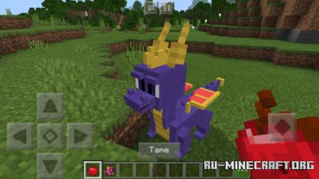 Скачать Spyro The Dragon для Minecraft PE 1.11