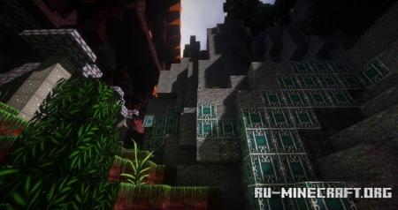 Скачать Wolfhound Fantasy [64x] для Minecraft 1.14