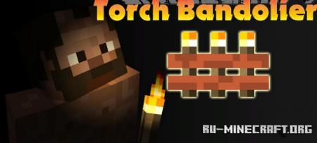 Скачать Torch Bandolier для Minecraft 1.14.2