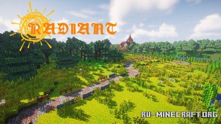 Скачать Radiant Pixels для Minecraft 1.14