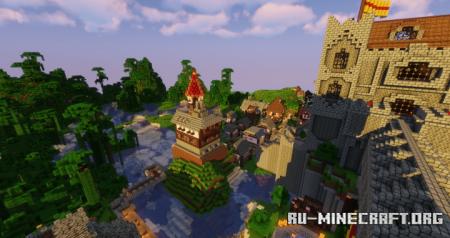 Скачать The Fallen Kingdom для Minecraft