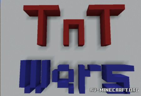 Скачать Tnt Wars (Multiplayer Minigame) для Minecraft