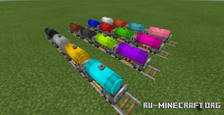 Скачать Rail Craft для Minecraft PE 1.12