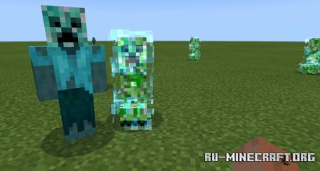 Скачать More Zombies для Minecraft PE 1.12