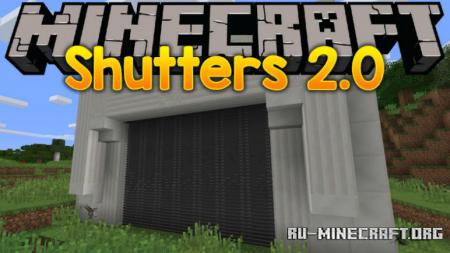 Скачать Shutters 2.0 для Minecraft 1.12.2
